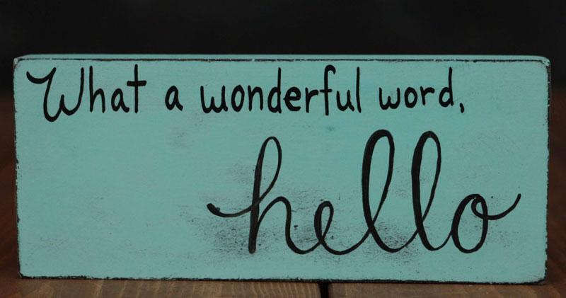 HellodecorativesignL