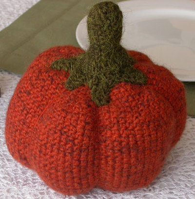 Free Small Doll Pumpkin Cap Crochet Pattern - Orble